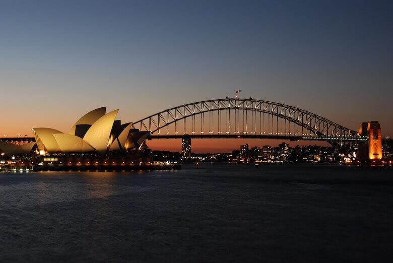 Australia Sydney harbour