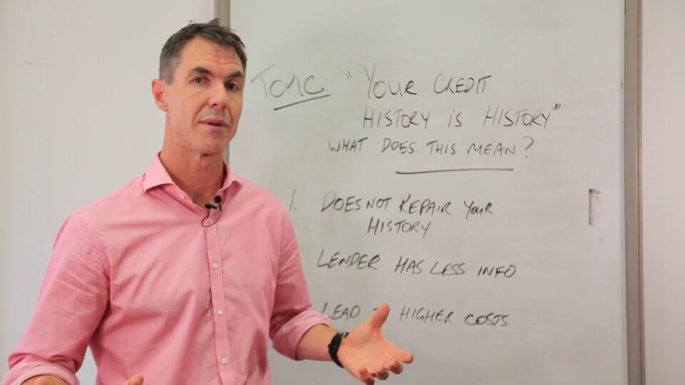 Paul Walshe credit history is never history