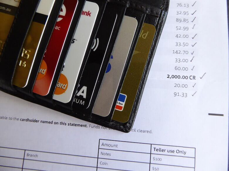 credit card statement