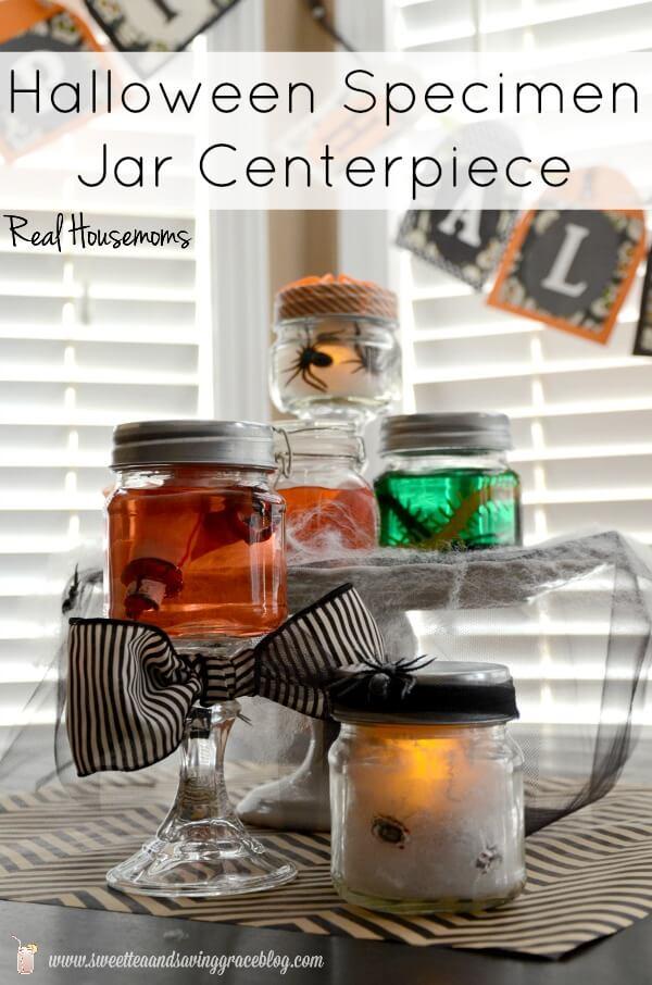Halloween Specimen jars Real Housemoms