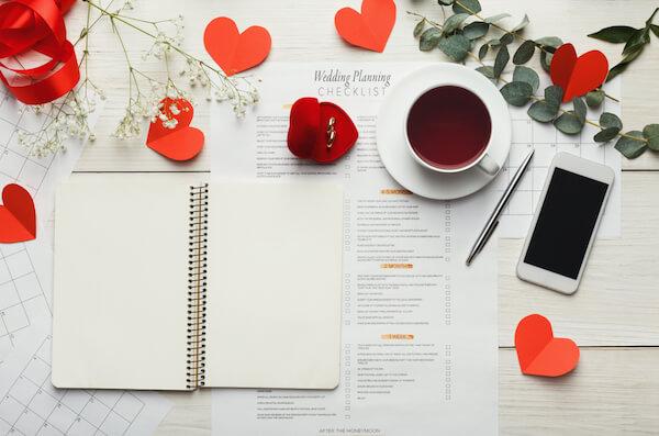 wedding checklist for wedding expenses